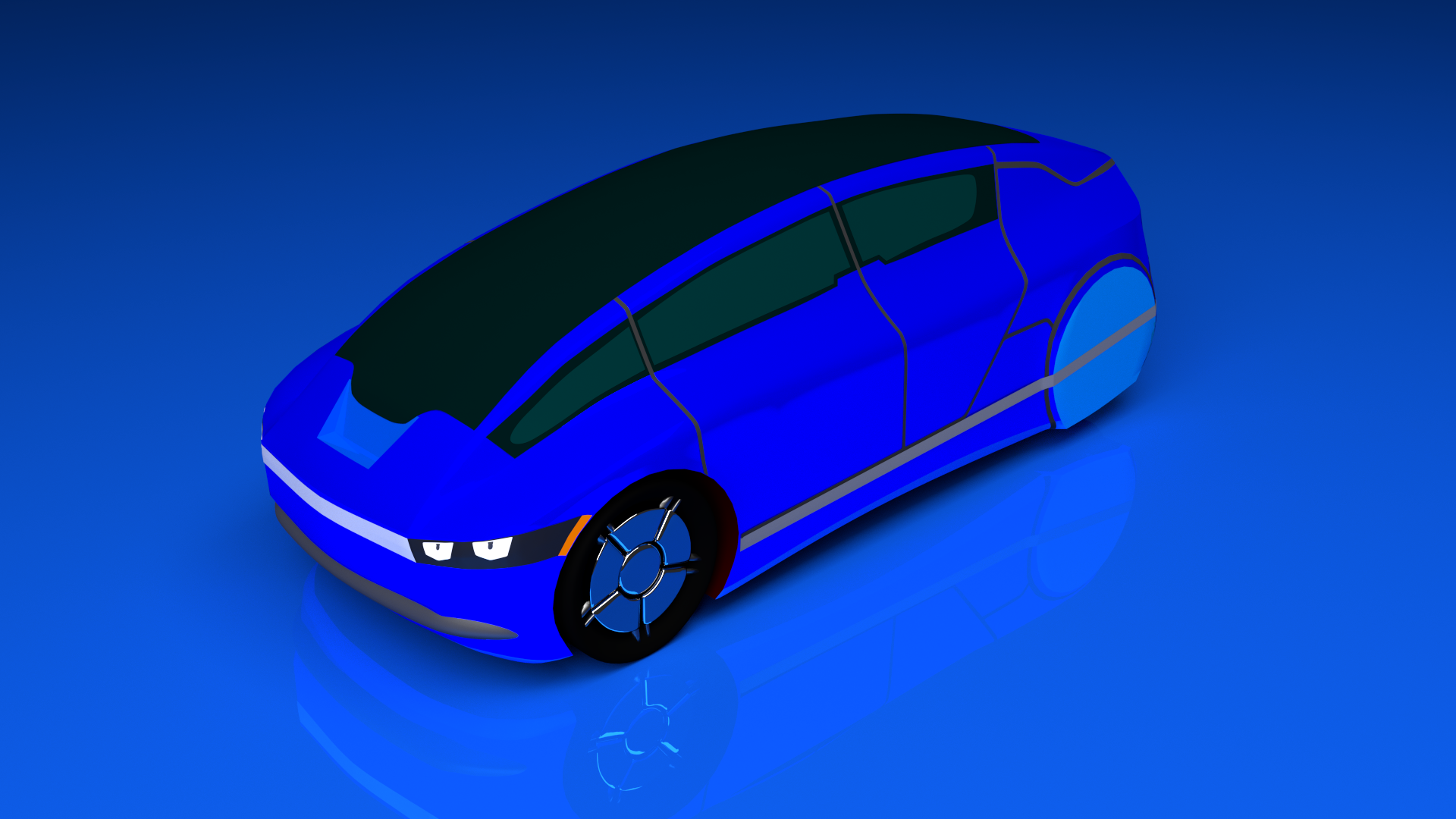 Super car dream 2 code a car that i created myself with the help of a tutorial i used blueprints to create this car and then i used materials using blender software malvernweather Gallery